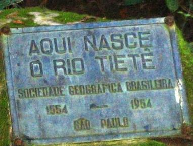 Nascente do Rio Tiete