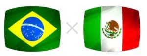 Data e horário amistoso Brasil e México 2012