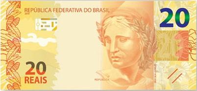 nova nota 20 reais
