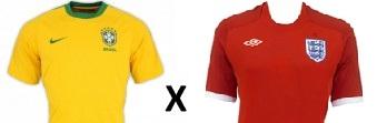 Amistoso Brasil vs Inglaterra 2013-Data e horário