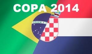 Jogo Brasil vs Croácia Copa 2014
