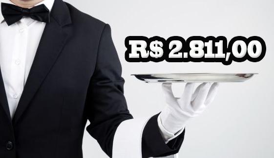 Garçom com piso salarial de R$ 2.811-Comissão de Trabalho aprova a regulamentação da profissão